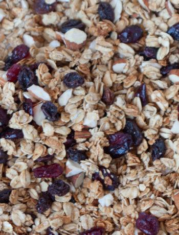 honey maple whole oat granola