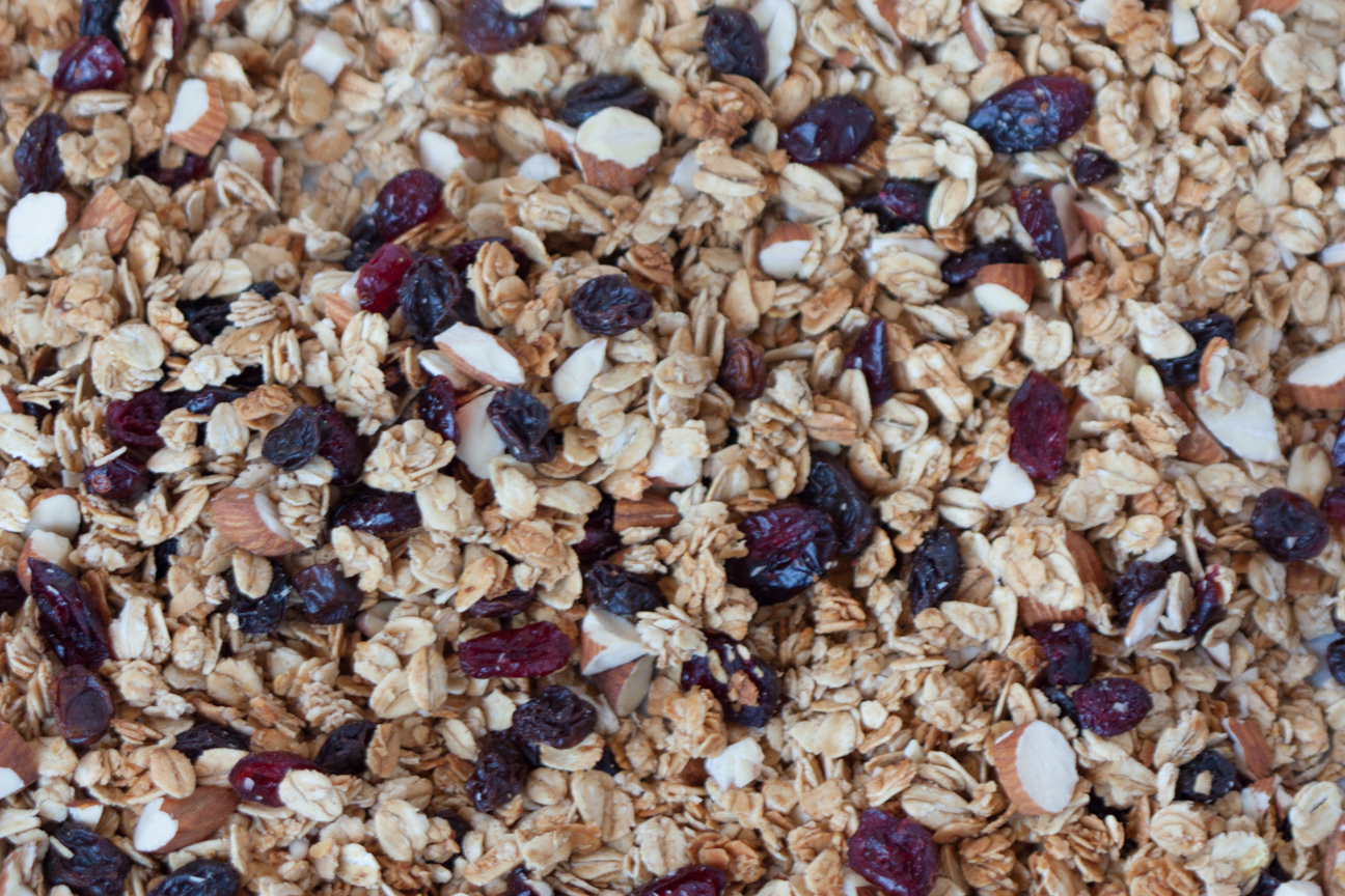 honey maple whole oat granola