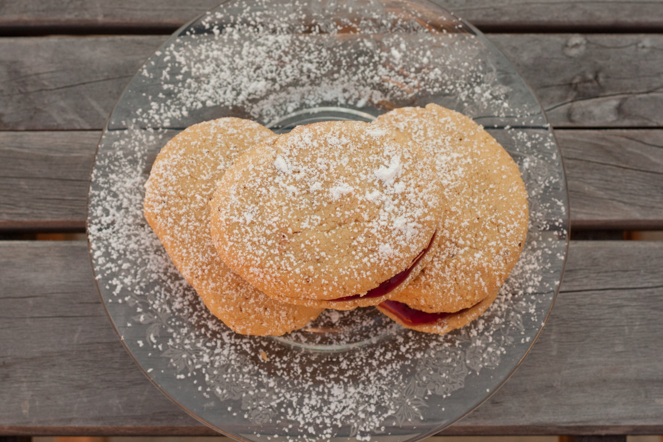 finnish spoon cookies on plate