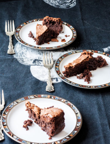 chocolate ginger hazelnut torte