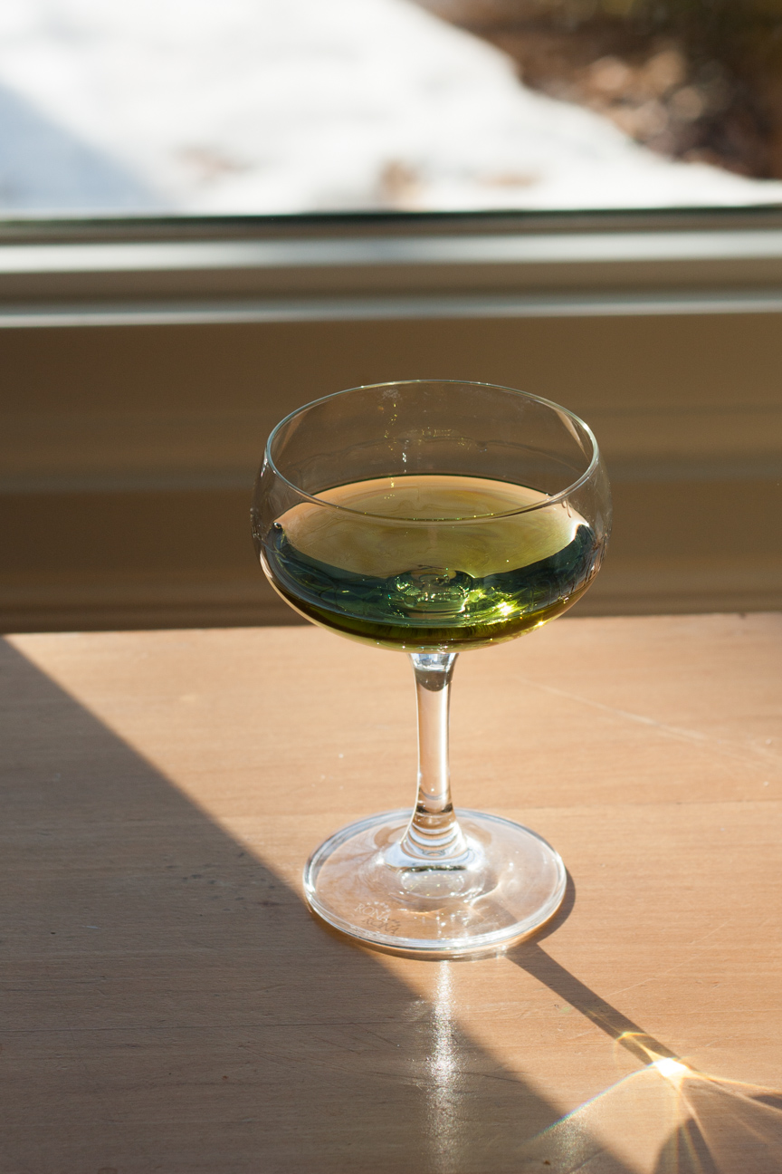 one glass of Chartreuse