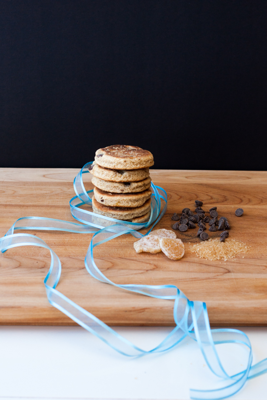 chocolate and ginger welsh cakes