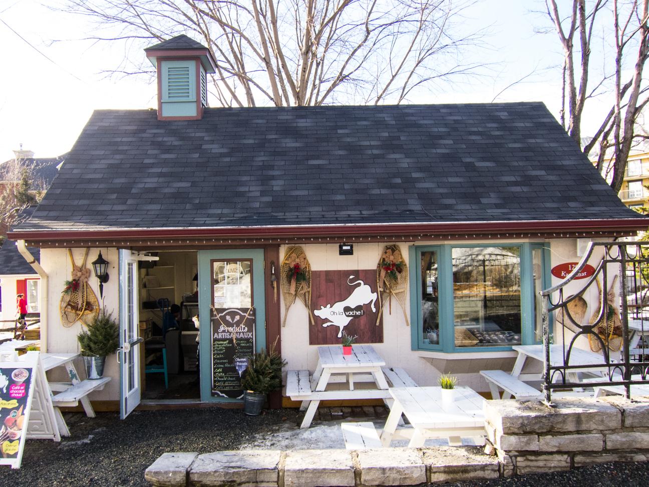 cafe bakery Mont Tremblant