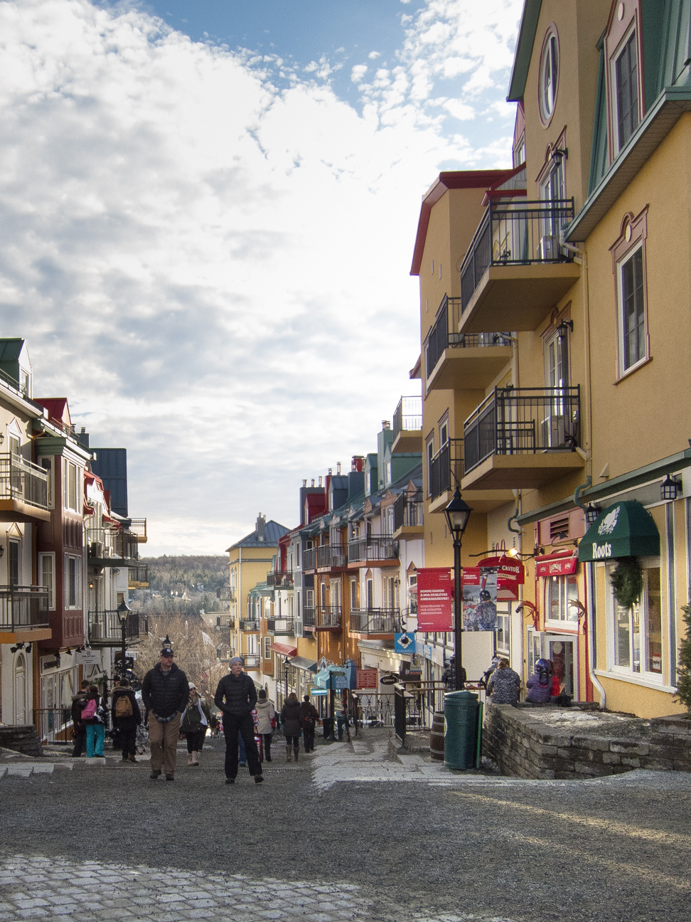 Pedestrian village Mont Tremblant