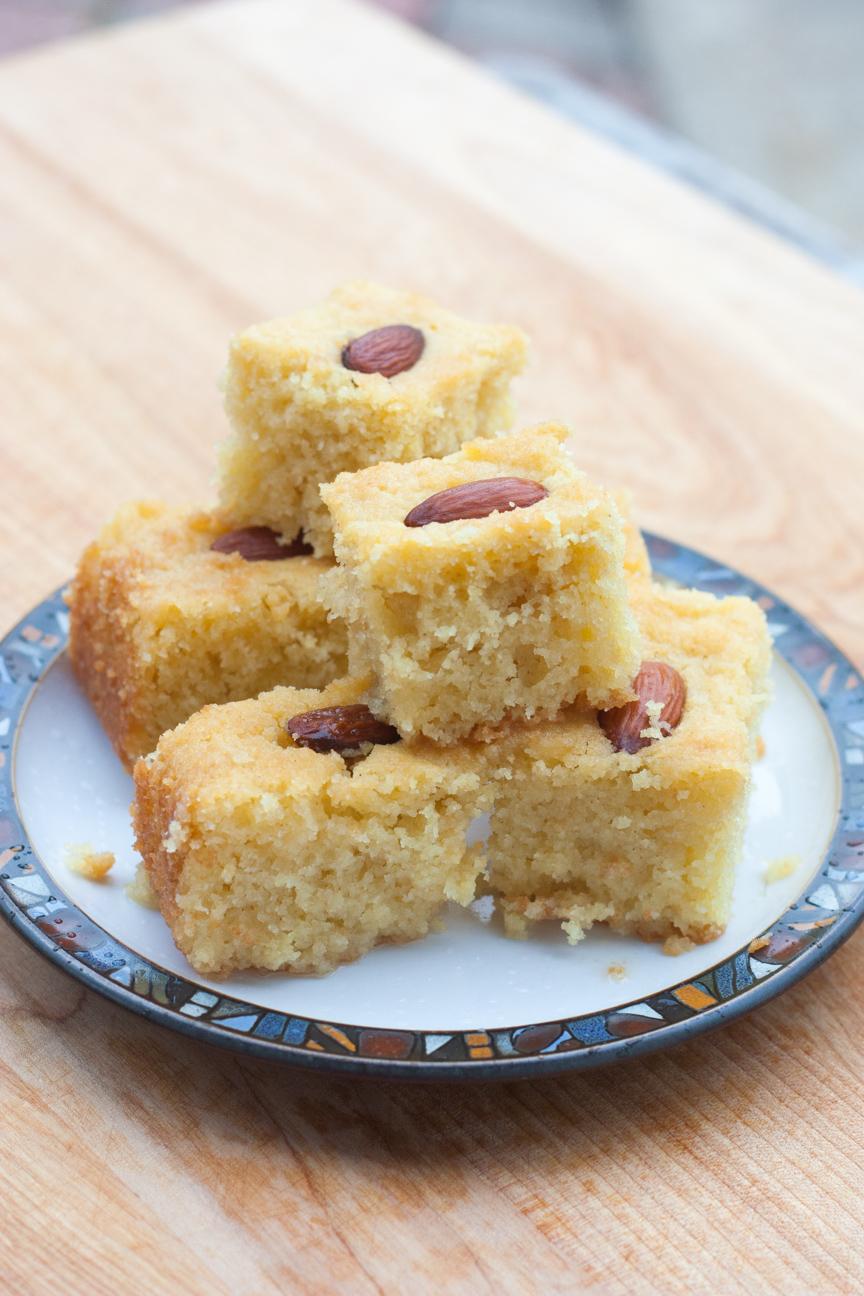Egyptian Basbousa Cake