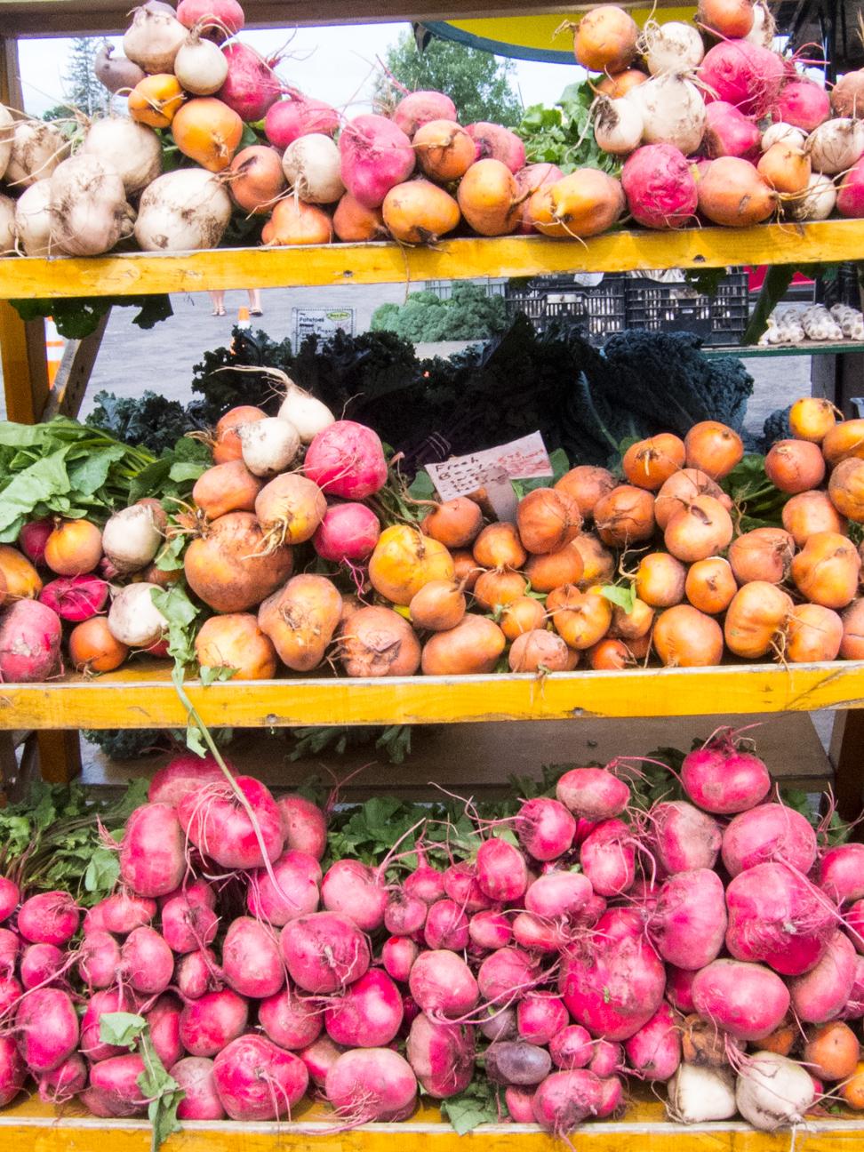 beets at Ottawa Farmer's Market