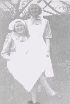 Mum and Peg during the war
