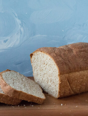 Honey Butter Whole Wheat Bread sliced loaf