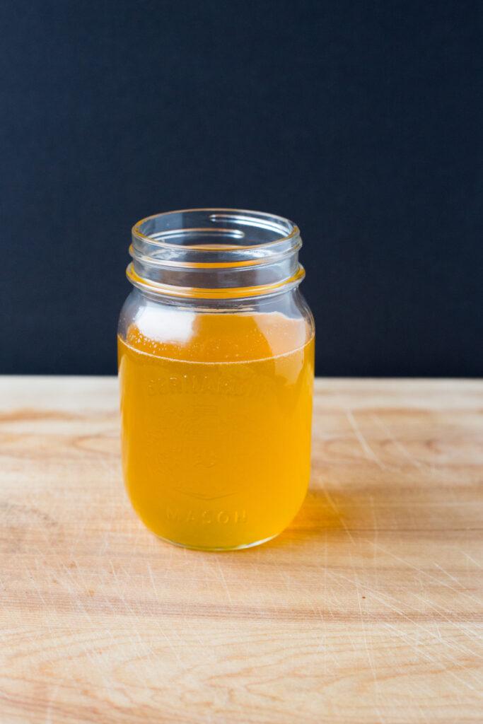 a jar of ghee